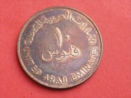 EMIRATS 10 FILS BRONZE 1988-1408AH- KM 3.1 TTB+ - Emirats Arabes Unis
