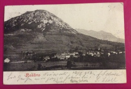 RESDERTA  RAZDRTO -  PANORAMA FINE 800 - VIAGGIATA 1903 - Gorizia