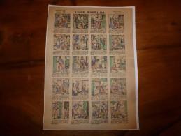 Vers 1900 Imageries Réunies De Jarville-Nancy L'OGRE HOSPITALIER Planche N° 96  Contes Nouveaux ,Histoires Choisies - Vieux Papiers
