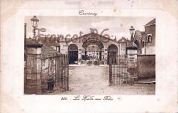 (45) Courtenay - La Halle Aux Blés - 2 SCANS - Courtenay
