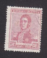 Argentina, Scott #225, Used, Jose De Martin, Issued 1916 - Argentine