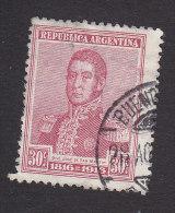 Argentina, Scott #225, Used, Jose De Martin, Issued 1916 - Usati