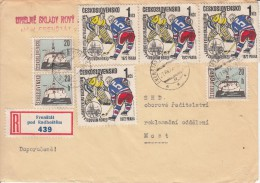 EISHOCKEY-ICEHOCKEY-HOCKE Y SUR GLACE-HOCKEY SU GHIACCIO, CSR/CSSR, 1972, Special Stamps !! - Hockey (su Ghiaccio)