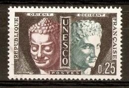 1960-65 - Service De L'U.N.E.S.C.O. à Paris - Bouddha Et Hermés - Service N°23 - Gebraucht