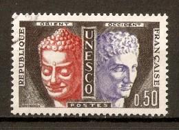 1960-65 - Service De L'U.N.E.S.C.O. à Paris - Bouddha Et Hermés - Service N°25 - Gebraucht