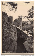 POSTCARD 1930 CIRCA - PICKERING CASTLE STAIRS TO KEEP - England