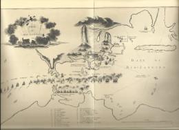 Baie De Rio De Janeiro (Bresil) - Plan De Combat Du Corsaire Duguay Trouin 1711 - Carte Geographique (Paris B.N.) - Cartes Marines