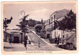 Villanova Del Battista (AV). Via Roma. VG. - Avellino