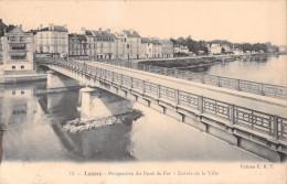 77 LAGNY PERSPECTIVE DU PONT DE FER ENTREE DE LA VILLE / 15 EDITION E.R.T - Lagny Sur Marne