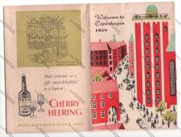 LIBRETTO PUBBLICITARIO - WELCOME TO COPENHAGEN 1958 - - Pubblicitari