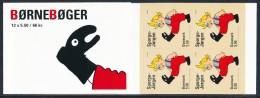 """DENMARK/Dänemark, EUROPA 2010  """"Children's Books"""" Booklet Perf. 13½ (serpentine Roulette)** - Europa-CEPT"""