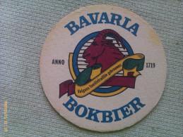 Posavasos Cerveza Bavaria Bokbier. Holanda. Años ´90 - Portavasos