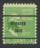 Wooster, Ohio, 1 C., Sc # 804. - United States