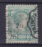 Monaco 1885 Mi. 6    25 (c.) Charles III. Cote €80,- (2 Scans) - Monaco