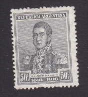 Argentina, Scott #226, Used, Jose De Martin, Issued 1916 - Used Stamps