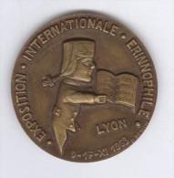 Médaille Exposition Internationale Erinnophile - Lyon - 9 Au 17 Novembre 1963 - Zonder Classificatie