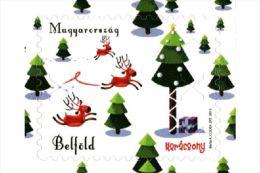 HUNGARY 2015 CULTURE Celebration CHRISTMAS - Fine Set (self-adhesive) MNH - Hungary