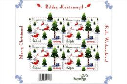 HUNGARY 2015 CULTURE Celebration CHRISTMAS - Fine Sheet (self-adhesive) MNH - Hungary