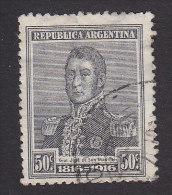 Argentina, Scott #226, Used, Jose De Martin, Issued 1916 - Oblitérés