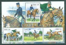 Ireland - 1998 Horses Block MNH__(TH-6786) - Blocchi & Foglietti