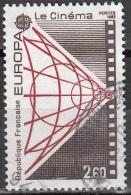 France 1983 Yvert 2271 O Cote (2012) 1.00 Euro Europa CEPT Le Cinéma Cachet Rond - Oblitérés