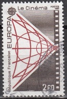 France 1983 Yvert 2271 O Cote (2012) 1.00 Euro Europa CEPT Le Cinéma Cachet Rond - Usati