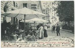 Genève: Place Du Molard - Marché Aux Fleurs ( Monopol 3010 Déposé ) - Marchés