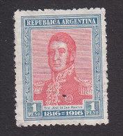 Argentina, Scott #227, Used, Jose De Martin, Issued 1916 - Argentine