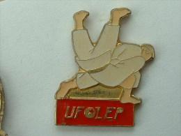 Pin´s JUDO UFOLEP - Judo
