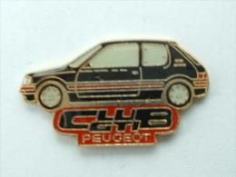 Pin´s PEUGEOT - CLUB GTI 205 NOIRE - Peugeot