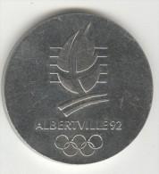 Médaille Albertville 1992 - France
