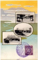 JAPAN 1907 - Military Cancellation On Art Shrines Postcard - Japan