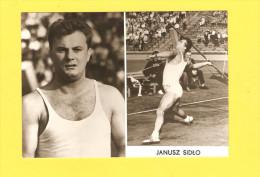Postcard - Poland, Polska, Sport, Janusz Sidlo      (V 26514) - Cartes Postales