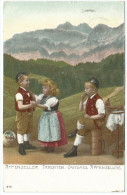 Suisse, Schweiz, Svizzera: Appenzeller Trachten, Costumes Appenzellois, Kleidertrachten - Costumes