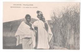 CP COLONIES FRANCAISES BONDOUKOU Reiour De Marché COTE D´IVOIRE ANNONCE CHAMPAGNE DEUTZ Animée Femmes - Côte-d'Ivoire