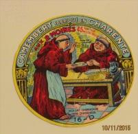 ETIQUETTE CAMEMBERT AUX DEUX MOINES - Fromage