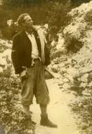 Roi Leopold De Belgique Alpiniste Dans Les Alpes Dolomites Ancienne Photo De Presse 1934 - Famous People