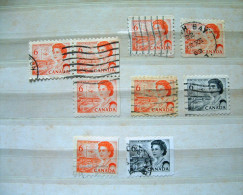 Canada 1967 - Queen - Perf. 10 + Coil - 1952-.... Reign Of Elizabeth II