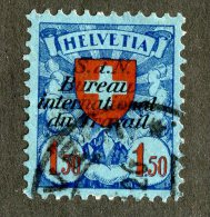 8210 - Swiss 1924 BIT    Michel # 23x(o)  ( Cat. 17.00€ ) - Officials