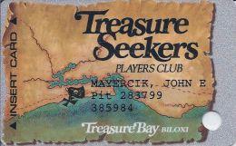 Treasure Bay Casino Biloxi 4th Issue Slot Card (Printed) - Casino Cards