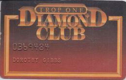 Tropicana Casino Atlantic City NJ 4th Issue Trop One Diamond Club Slot Card - Casino Cards