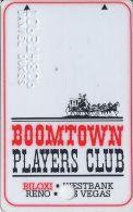 Boomtown Biloxi Casino 3rd Issue Slot Card - Narrow Mag Stripe - Casino Cards