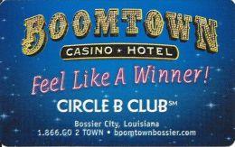 Boomtown Casino Bossier LA Paper Card - Casino Cards