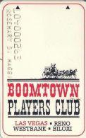 Boomtown Casino Las Vegas 1st Issue Slot Card   ....[RSC]..... - Casino Cards