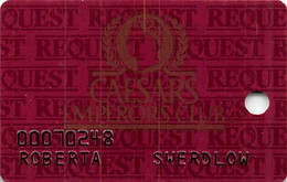 Caesars Casino Las Vegas Slot Card - Casino Cards
