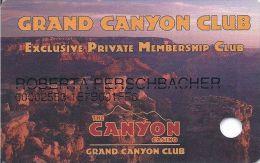 Canyon Casino Black Hawk CO 4th Issue Slot Card (Printed)   ....[RSC]..... - Casino Cards