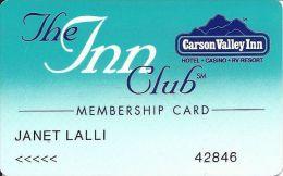 Carson Vally Inn Casino 2nd Issue Slot Card - Casino Cards