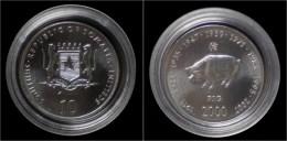 Somalia 10 Shilling 2000- Pig - Somalie