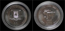 Somalia 10 Shilling 2000- Goat - Somalie