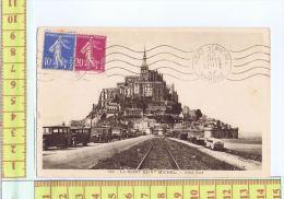 50  LE MONT ST MICHEL VOITURE AUTOCAR - Le Mont Saint Michel